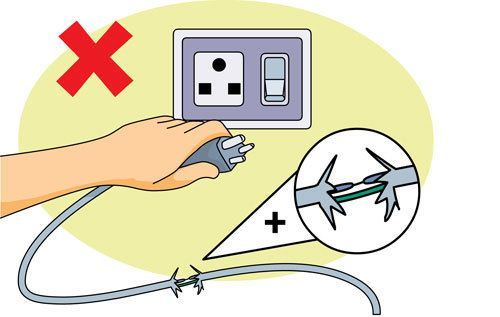 Electrical Conductors Clip Art : Electrical safety